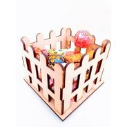 Candy Bar Cerco Souvenir X 10u - Mdf / Fibrofacil