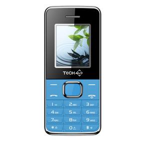 Celular Zas Telefono Basico Barra Liberado Dual Azul Tech4u