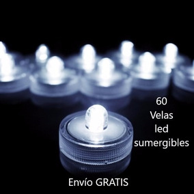 60 Luz Led Para Agua Sumergibles Centros De Mesa Decoracion