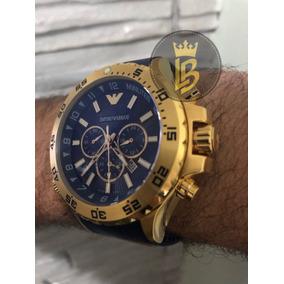 1d0a5e9cf14 Relogio Armani 0690 - Relógio Masculino no Mercado Livre Brasil