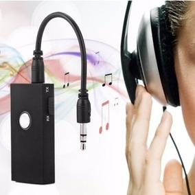 Transmissor E Receptor De Audio Via P2 3.5mm Via Bluetooth