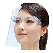 10 Caretas Facial Protectoras Soporte De Lentes Mayoreo