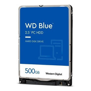 Hd De Notebook 500gb Sata Iii Western Digital Wd5000lpzx
