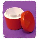 Envase Plastico Pote 30gr Doble Fondo Cosmetica Cremas 50 Un