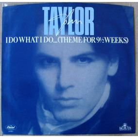 John Taylor Duran Duran 9 1/2 Weeks Theme Vinilo Simple 1986