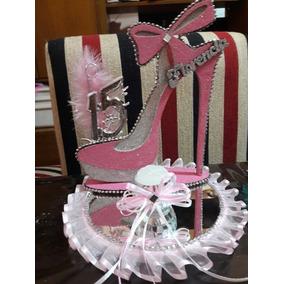 Oferta Centro De Mesa Zapato De Fibrofacil Pack X15