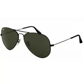 Óculos De Sol Aviador Todo Preto Ray Ban Top Rb3025 · R  219 99 5674cce672
