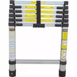 Escada Telescópica De Alumínio 2 Metros Com 7 Degraus 150kg