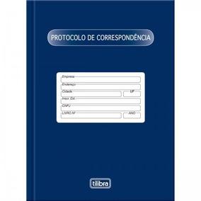 Livro Protocolo De Correspondência 104 Folhas Tilibra