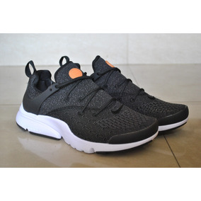 Kp3 Zapatos Nike Air Presto Essential Gris Negro Caballeros