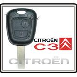Llave Con Telemando Citroen C3 Original ! !