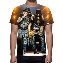 Camisa, Camiseta Guns N Roses Mod 04 - Estampa Total