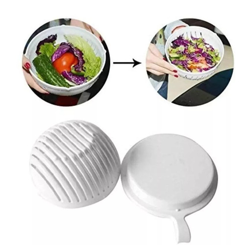 Cortador Fatiador Dicer De Salada Salad Cutter Bowl  Chef