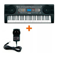 Organo Teclado Musical Mk902 61 Teclas Sensitivo + Midi