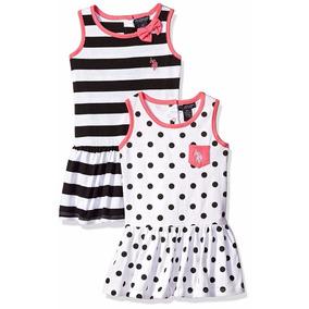 Kit De Vestidos Infantis Importados Dois Por Um