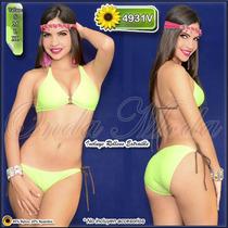Traje Baño Damas Ultima Moda 2017 Bikinis Mujer Strapless