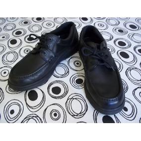 Zapato Hush Puppies, Compacto, Color Negro. Saldo Zapatería.