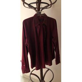 Blusa/camisa Mujer Casual D Vestir Color Vino Ch & P Remate