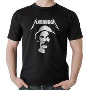 Camisetas Engraçadas Sátiras Seu Madruga Metallica 1877