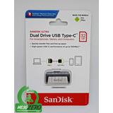 Usb Sandisk Ultra Dual Tipo C - 16/32/64/128/256gb