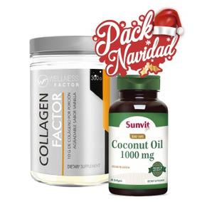 Pack: Coconut Oil + Collagen Factor 300 Gr