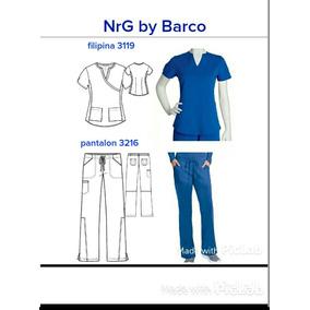 Uniforme Quirurjico Nrg Barco Para Dama Modelo 3216-3119