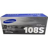 Toner Samsung 108s Negro Mlt-d108s Original