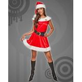 Disfraz De Mama Noel Navidad Promotoras