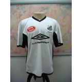 Camisa Futebol Santos F.c. Umbro Passeio Antiga S-08 246c3a5229ad2