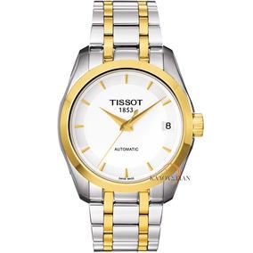 Reloj Tissot Couturier Dama Automatico T035.207.22.011.00