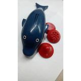 Masajeador Corporal -forma De Delfín Con 3 Puntas-2 Pilas Aa
