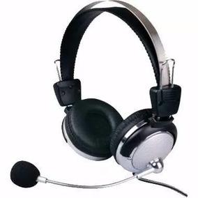 Fone Headset Com Microfone Para Pc Notebook Sy 301mv