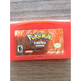 Pokemon Fire Red Original En Inglés Y Graba