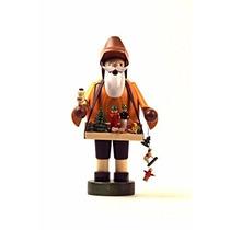 Decoración Kwo Juguete Vendedor Alemán De Navidad Incienso