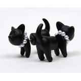 Zarcillo Solitario Ear Cuff Gato Cat Trepadores Accesorios