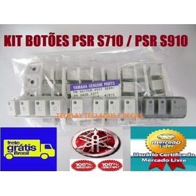 Kit3 Jogos Botões Abcd+ Break+ Start Teclado Yamaha Psr S710