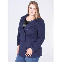 Casaco Plus Size Feminino Facinelli - Marinho