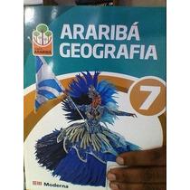 Livro Projeto Araribá Geografia 7 Editora Moderna