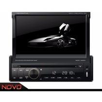 Dvd Retrátil Napoli 7968 Gps, Tv Digital, Bluetooth E Cam/ré