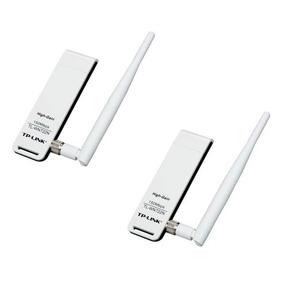2 Pz Tl-wn722n Tarjeta Red Wifi Usb Tp-link Ver 2.0 Puebla