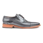 Zapatos De Hombre De Vestir De Cuero Picado Gon - Ferraro -