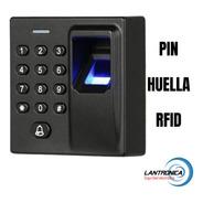 Control Acceso Biometrico Huella Fp6 - Rfid-huella -tarjetas