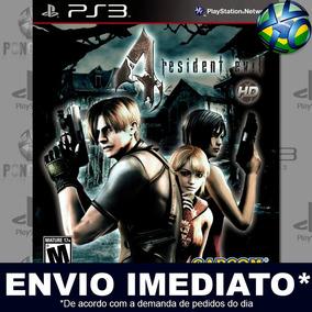 Resident Evil 4 - Ps3 - Mídia Digital Psn - Envio Agora