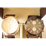 Reloj Caja Por 2 Us Polo Original Usa.