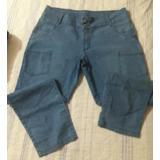 Jeans Feminino Com Stretch Tam 54 Lindissima - Cod 054