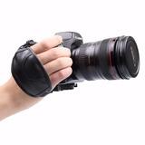 Correa De Mano De Cuero Para Cámaras Canon Nikon Sony Dslr