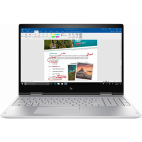 Hp Envy 2-in1 15.6 Touch Laptop Intel I5 12gb 1tb Cons Promo