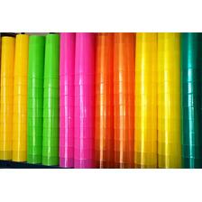 Vaso Trago Largo Pp Descartable Plastico Flexible En Colores