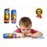 Combo X10 Cartuchera Tela Infantil Souvenir Juguetes Escolar