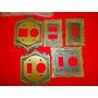 Cinco Unidades Espelho Bronze Antigo Para Tomada